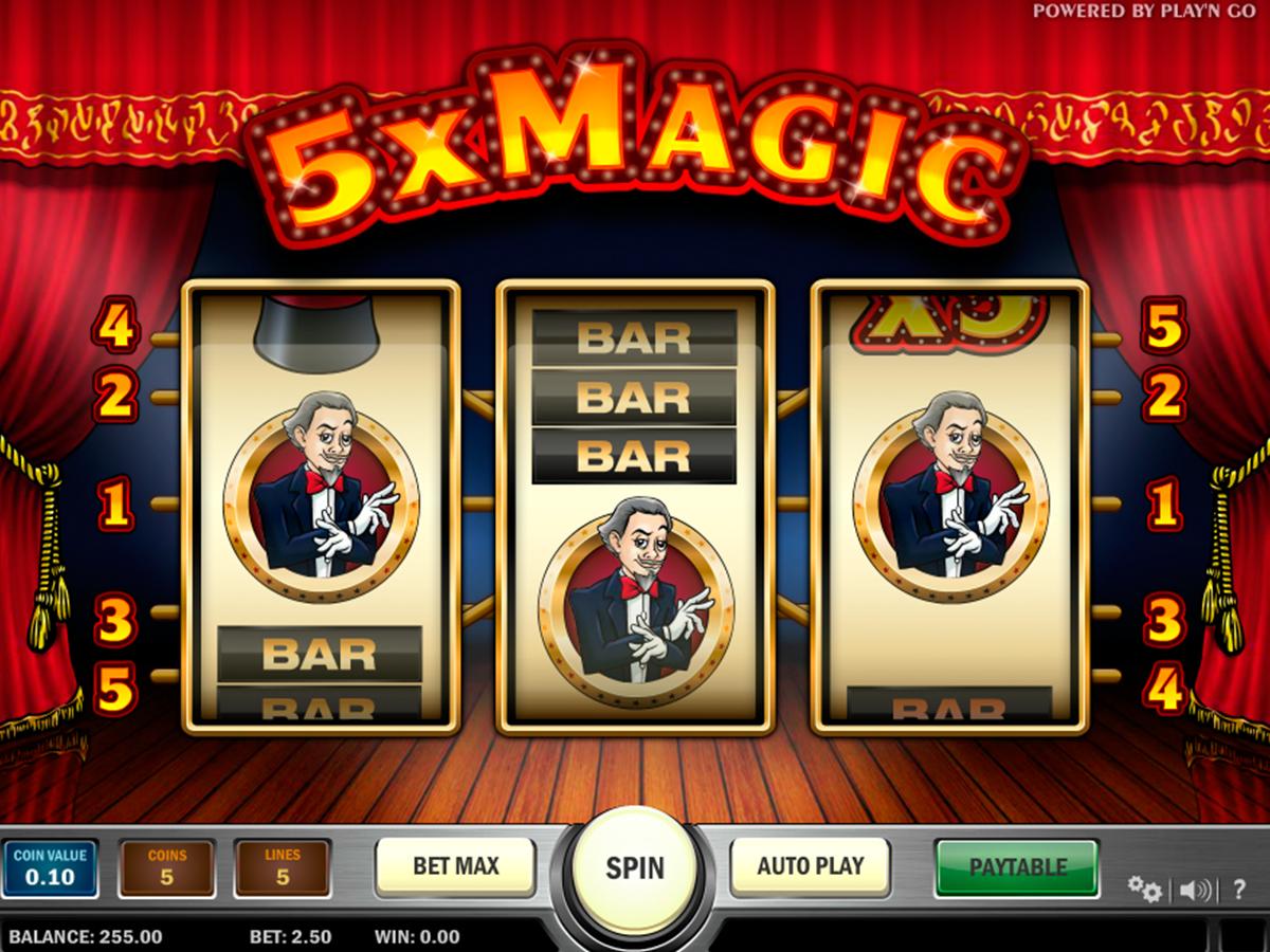 5x magic playn go