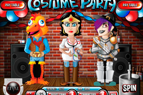 costume party rival
